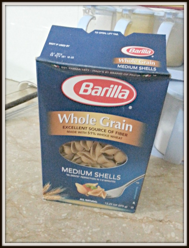 Barilla box